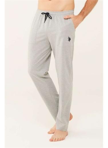 U.S. Polo Assn. U.S. Polo Assn. Erkek Lacivert Pijama Altı Gri